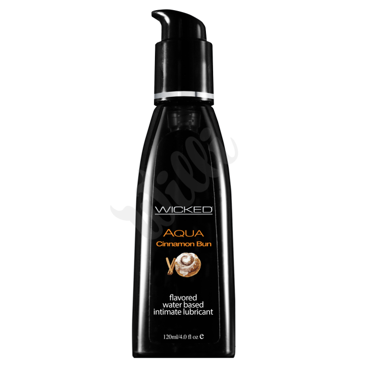 Lubrikant WICKED Aqua - Vanilla Bean - 4oz