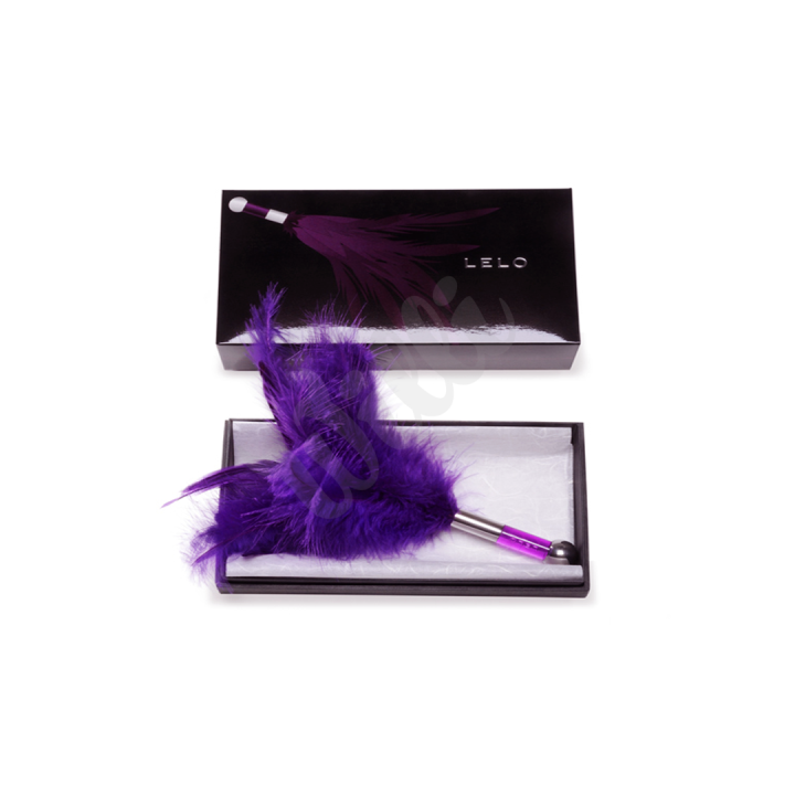 Lelo - Šimrátko Tantra Feather Teaser Black