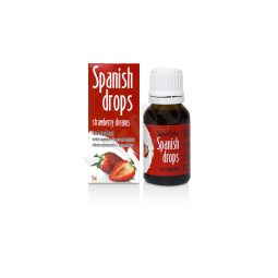 Španělské mušky jahoda - SpanishFly Strawberry Dreams 15ml