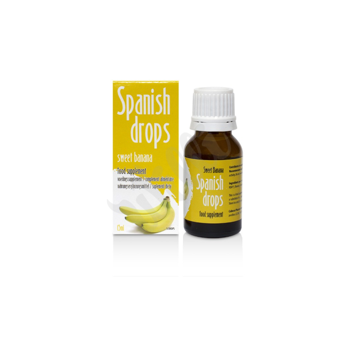 Španělské mušky ananas - SpanishFly Pineapple pleasure 15ml